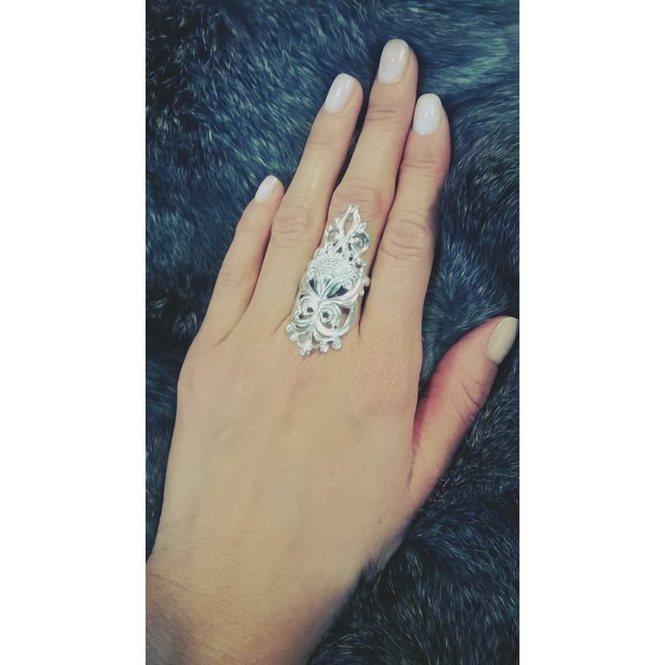 кольца на весь палец фото
